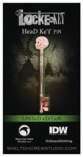 Locke & Key Head Key Limited Edition Enamel Pin (C: 1-1-2)