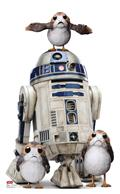 Star Wars The Last Jedi R2-D2 W/Porgs Life-Size Stand Up (C: