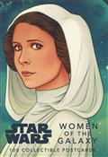Star Wars Women of The Galaxy 100 Postcard Book (C: 1-1-2)
