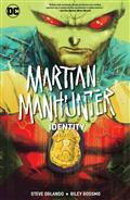 Martian Manhunter Identity TP