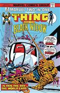 True Believers Black Widow & The Thing #1