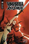 Vampirella Red Sonja #8 Cvr A Lee