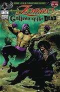 Zorro Galleon of Dead #1 Cvr A Martinez