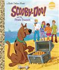 SCOOBY-DOO-PIRATE-TREASURE-LITTLE-GOLDEN-BOOK-HC-(C-0-1-0
