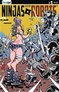 Ninjas & Robots #1 Cvr A Erik Klaus