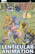 Ninjas & Robots #1 Cvr E Lenticular