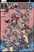 Ninjas & Robots #1 Cvr F 5 Copy Incv Cvr Klaus Eastman