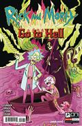 Rick And Morty Go To Hell #1 Cvr C Goux