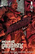 Helm Greycastle #1 (of 4) Cvr C Parker