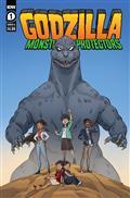 Godzilla Monsters & Protectors #1 Cvr A Dan Schoening