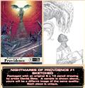 Nightmares of Providence #1 Original Art Sketched Var (MR) (Allocations Are Likely)