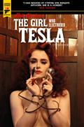 Minky Woodcock Girl Electrified Tesla #1 Cvr C Photo (MR)
