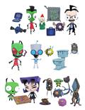 Invader Zim Series 1 Action Figure Asst (C: 1-1-0)