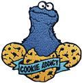 Sesame Street Cookie Addict Patch (C: 1-1-2)