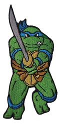 Teenage Mutant Ninja Turtles 80S Leonardo Patch (C: 1-1-2)