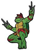 Teenage Mutant Ninja Turtles 80S Raphael Patch (C: 1-1-2)