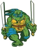 Teenage Mutant Ninja Turtles Leonardo Comic Era Pin (C: 1-1-