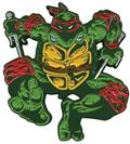 Teenage Mutant Ninja Turtles Raphael Comic Era Pin (C: 1-1-2
