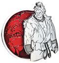 Street Fighter Akuma Portrait Series Enamel Pin (C: 1-1-2)