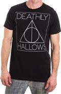 Harry Potter Deathly Hallows Symbol Black T/S Lg (C: 1-1-2)
