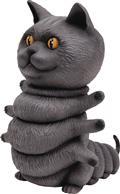 Casey Weldon X Threea Kittypillar Chartreux Vinyl Figure (C: