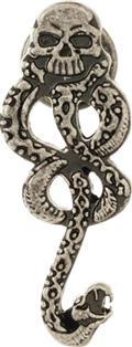 Harry Potter Death Eater Dark Mark Lapel Pin (C: 1-1-2)