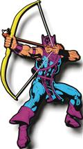Marvel Mega Magnets Hawkeye Magnet (C: 0-1-2)