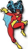 Marvel Mega Magnets Spider-Woman Magnet (C: 0-1-2)