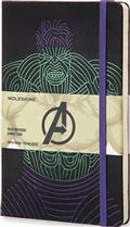 Moleskine Avengers Hulk Ruled Lg Notebook (C: 1-1-2)