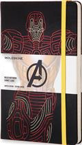 Moleskine Avengers Iron Man Ruled Lg Notebook (C: 1-1-2)