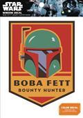 Star Wars Boba Fett Bounty Hunter Badge Window Decal (C: 1-1