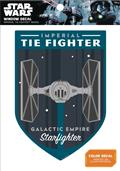 Star Wars Imperial Tie Fighter Badge Window Decal (C: 1-1-0)
