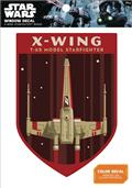 Star Wars X-Wing Starfighter Badge Window Decal (C: 1-1-0)