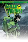 Green Hornet #1 Atlas Chu Signed Ed (C: 0-1-2)