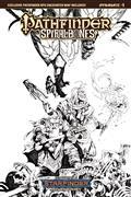 Pathfinder Spiral of Bones #1 (of 5) Cvr E 20 Copy Lau B&W I