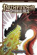 Pathfinder Spiral of Bones #1 (of 5) Ken Haeser Original Ske