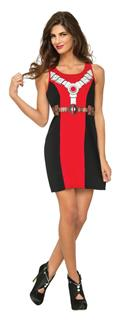 Marvel Deadpool Tank Dress Lg (C: 1-0-2)