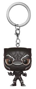 Pocket Pop Black Panther Black Panther Fig Keychain (C: 1-1-