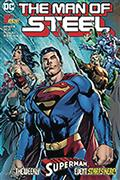DF Man of Steel #1 Sgn Bendis