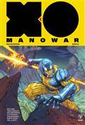 X-O Manowar (2017) Matt Kindt Dlx HC Vol 01 (C: 0-1-2)