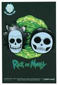 Rick And Morty X-Ray Skulls 2 Set Pins (C: 1-1-2)