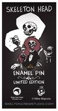 Hellboy Skeleton Head Limited Edition Enamel Pin (C: 1-1-2)