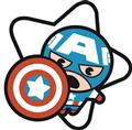 Marvel Kawaii Captain America Pin (C: 1-1-1)