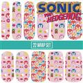 Sonic The Hedgehog Candy Pop Nail Wraps Set (Net) (C: 1-1-2)