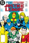 Dollar Comics Justice League #1 1987