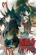 Kiss Zombies #5 Cvr B Sayger
