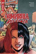 Vampirella Red Sonja #7 Cvr E Moss