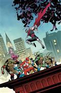Power Rangers Teenage Mutant Ninja Turtles #4 Cvr A Mora (C:
