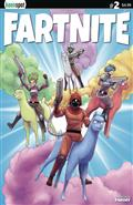 Fartnite Chapter Poo #1 #1 Cvr B Llama Riders In Sky