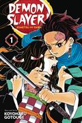 Demon Slayer Kimetsu No Yaiba GN 01 (C: 1-0-0)